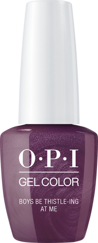 OPI GelColor - #GCU17 Boys Be Thistle-ing At Me - Scotland Collection .5 oz