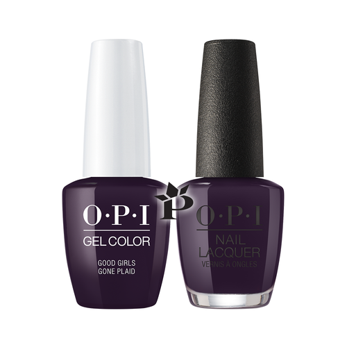 OPI Duo - GCU16 + NLU16 - Good Girls Gone Plaid .5 oz