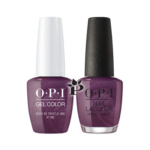 OPI Duo - GCU17 + NLU17 - Boys Be Thistle-ing At Me .5 oz