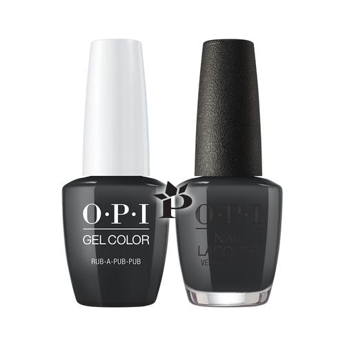 OPI Duo - GCU18 + NLU18 - Rub-a-Pub-Pub .5 oz