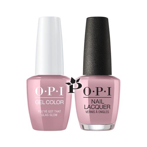 OPI Duo - GCU22 + NLU22 - You've Got That Glas-glow .5 oz