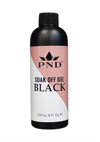 PND Soak Off Gel Black Refill 8oz