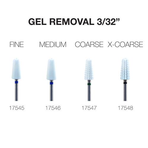 """PND Ceramic Bit - Gel Removal 3/32"""""""