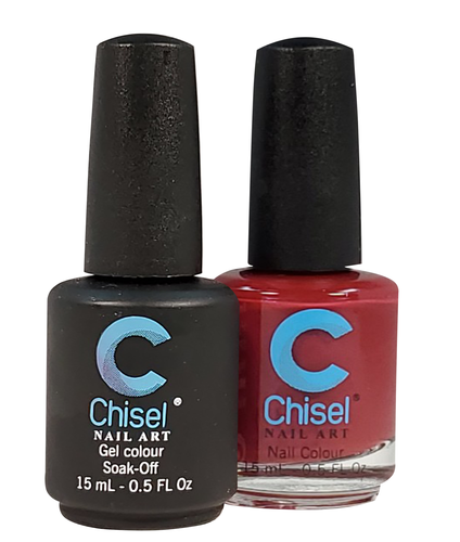 Chisel Matching Gel + Lacquer .5 oz - SOLID10