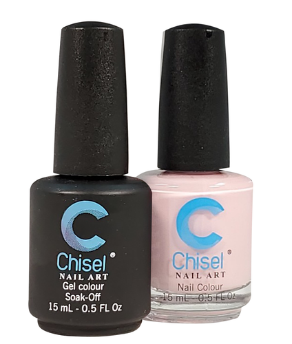 Chisel Matching Gel + Lacquer .5 oz - SOLID15