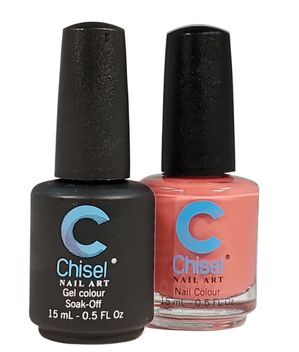 Chisel Matching Gel + Lacquer .5 oz - SOLID50