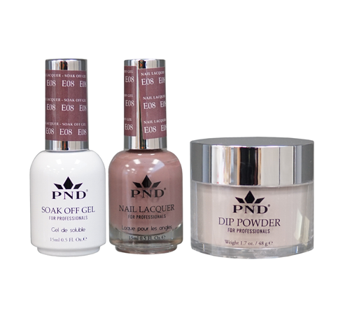 PND 3in1 Matching(GEL+LACQUER+DIP) - #E08