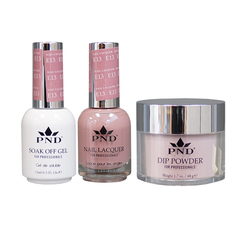 PND 3in1 Matching(GEL+LACQUER+DIP) - #E13