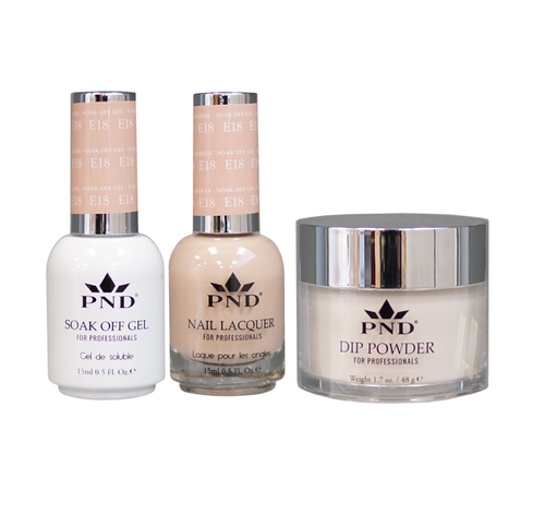 PND 3in1 Matching(GEL+LACQUER+DIP) - #E18