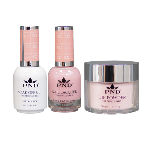 PND 3in1 Matching(GEL+LACQUER+DIP) - #E22