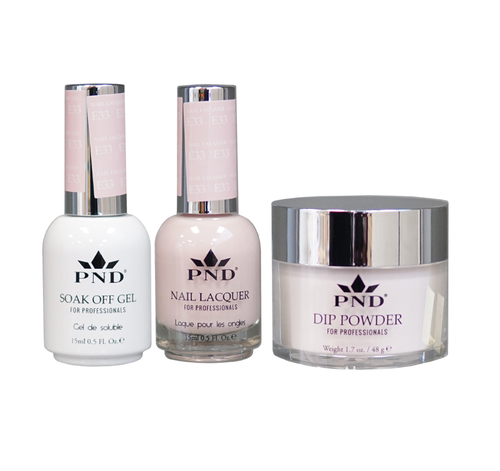 PND 3in1 Matching(GEL+LACQUER+DIP) - #E33