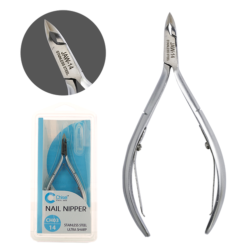 20% Off Chisel Stainless Steel Cuticle Nipper CH03 (Choose from 3 Sizes)