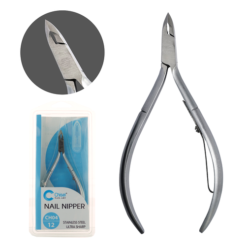 20% Off Chisel Stainless Steel Cuticle Nipper CH04 (Choose from 3 Sizes)