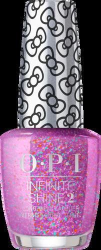 OPI Infinite Shine - #HRL34 Let's Celebrate! - Holiday Hello Kitty .5 oz