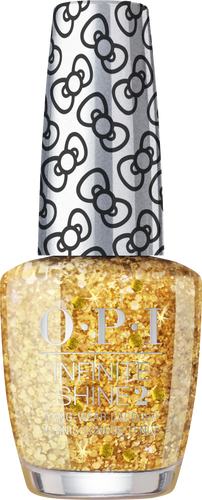 OPI Infinite Shine - #HRL43 Glitter All The Way - Holiday Hello Kitty .5 oz