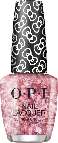 OPI Lacquer - #HRL13 Born To Sparkle - Holiday Hello Kitty .5 oz