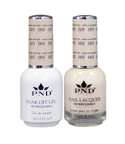 PND Matching Gel + Lacquer - #005