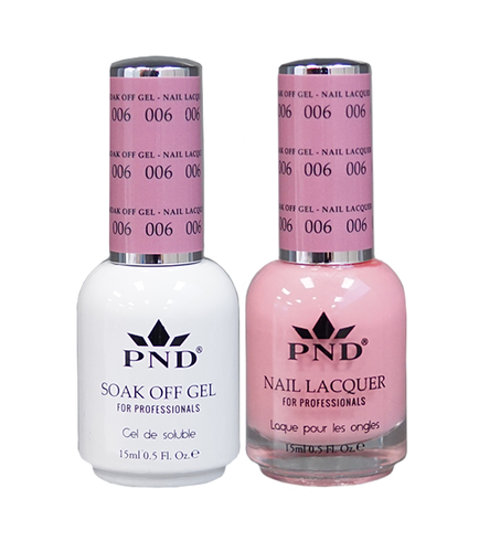 PND Matching Gel + Lacquer - #006