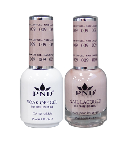 PND Matching Gel + Lacquer - #009