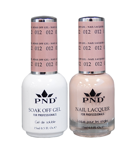 PND Duo: Gel+Lacquer - #012