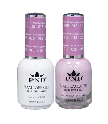 PND Matching Gel + Lacquer - #015