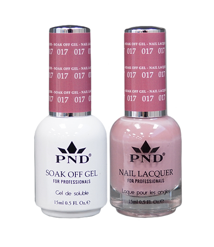 PND Matching Gel + Lacquer - #017