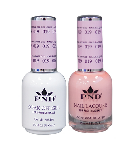 PND Matching Gel + Lacquer - #019