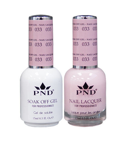 PND Duo: Gel+Lacquer - #033