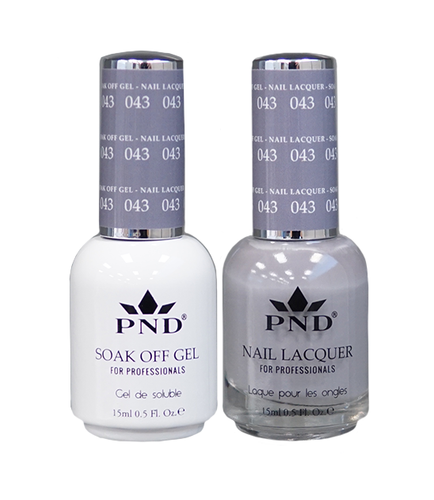 PND Duo: Gel+Lacquer - #043