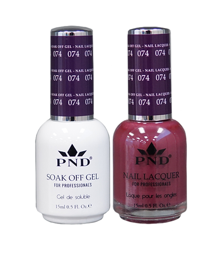 PND Duo: Gel+Lacquer - #074