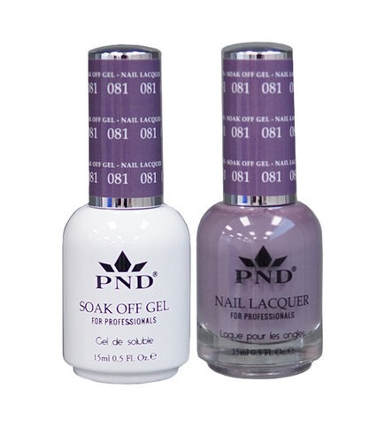 PND Duo: Gel+Lacquer - #081