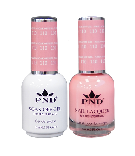 PND Duo: Gel+Lacquer - #110