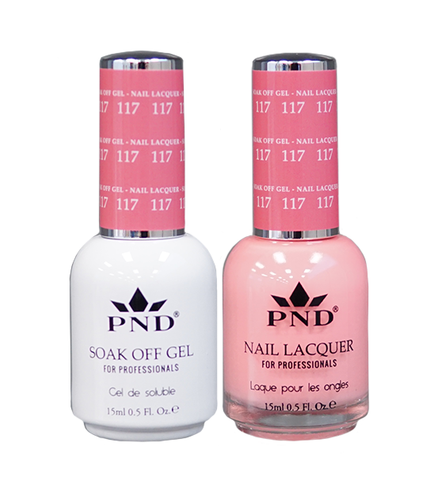 PND Matching Gel + Lacquer - #117