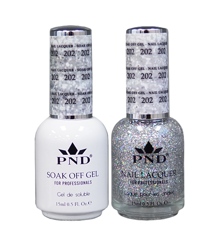 PND Duo: Gel+Lacquer - #202