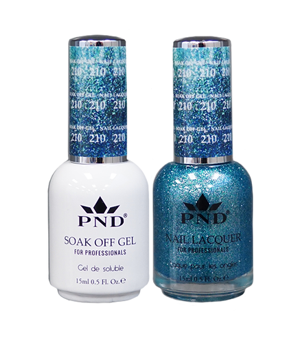 PND Duo: Gel+Lacquer - #210