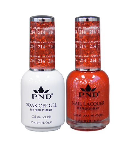PND Duo: Gel+Lacquer - #214