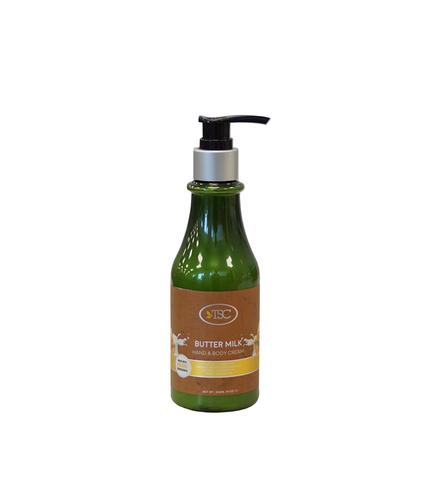 TSC Spa Organic Hand & Body Cream - Butter Milk 8 oz