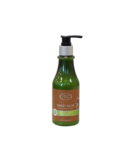 TSC Spa Organic Hand & Body Cream - Sweet Olive 8 oz