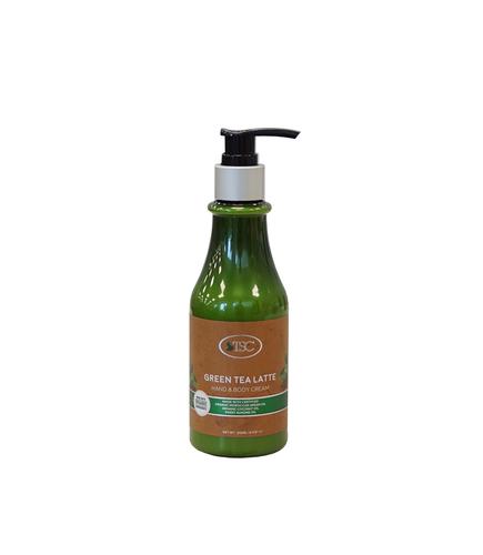 TSC Spa Organic Hand & Body Cream - Green Tea Latte 8oz