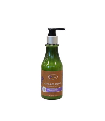 TSC Spa Organic Hand & Body Cream - Lavender Breeze 8oz