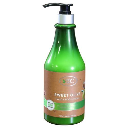 TSC Spa Organic Hand & Body Cream - Sweet Olive 30 oz