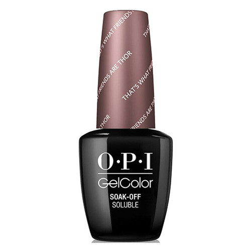 OPI GelColor (BLK) - #GCI54 - That's What Friends Are Thor