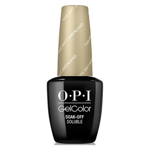 OPI GelColor (BLK) - #GCI58 - This Isn't Greenland
