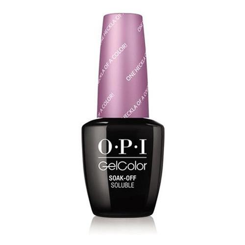 OPI GelColor (BLK) - #GCI62 - One Heckla of a Color!