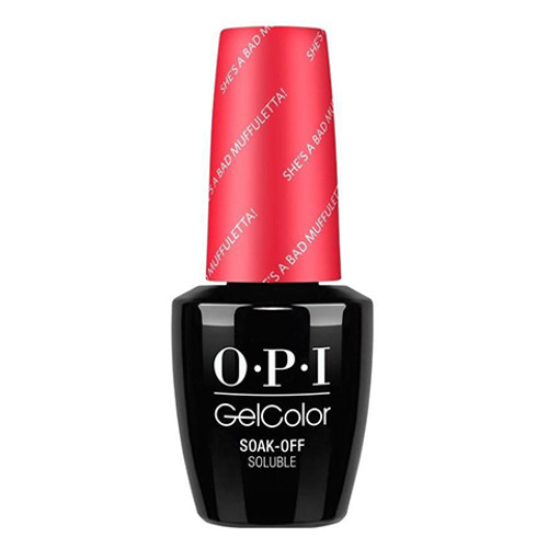 OPI GelColor (BLK) - #GCN56 - She's a Bad Muffuletta