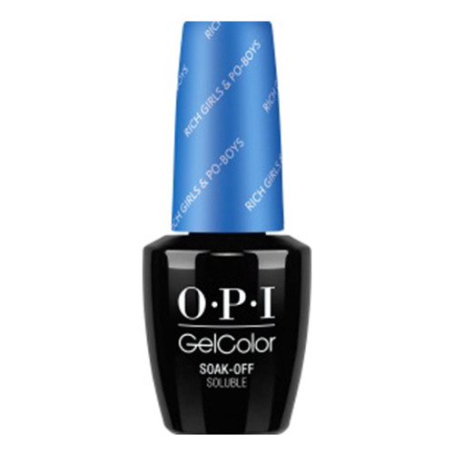 OPI GelColor (BLK) - #GCN61 - Rich Girls & Po-Boys