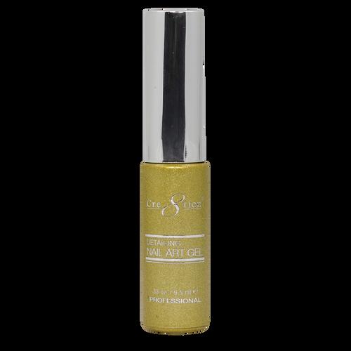 Creation Detailing Nail Art Gel - 31 Gold Platinium #2 .33 oz