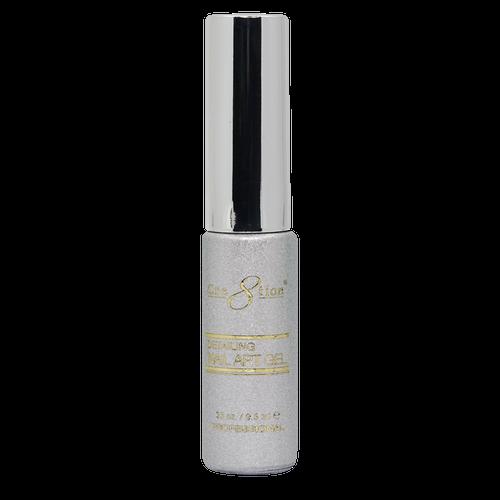 Creation Detailing Nail Art Gel - 41 Bright Silver Platinium .33 oz