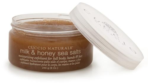 Cuccio Milk & Honey Sea Salts 8 oz