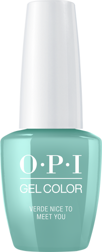 OPI GelColor - #GCM84 Verde Nice to Meet You - Mexico City Collection .5 oz